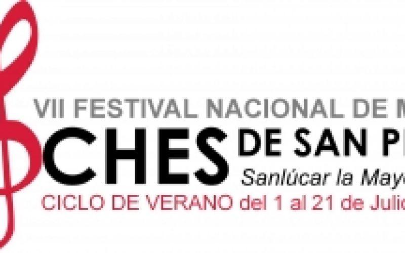 """VII Festival Nacional de Música """"Noches de San Pedro"""""""