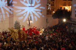 Cabalgata de Reyes 2014. La Hermandad del Rocío nos anima para salir en su carroza