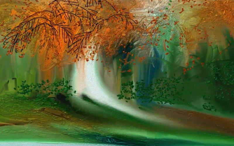 Exposición de pintura en la oficina de Turismo a cargo de Carmen Conde
