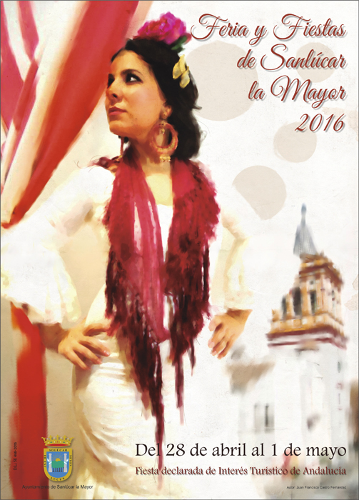 Cartel Feria Sanlucar La Mayor 2016